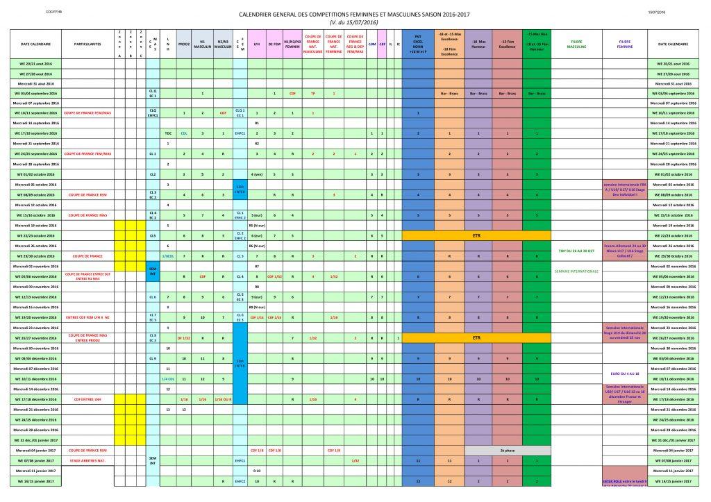 Calendrier général 2016-2017 (v du 15 07 2016)